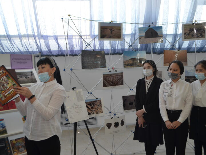 """Opening of temporary exhibition """"Sacral places of Sary-Arka"""""""