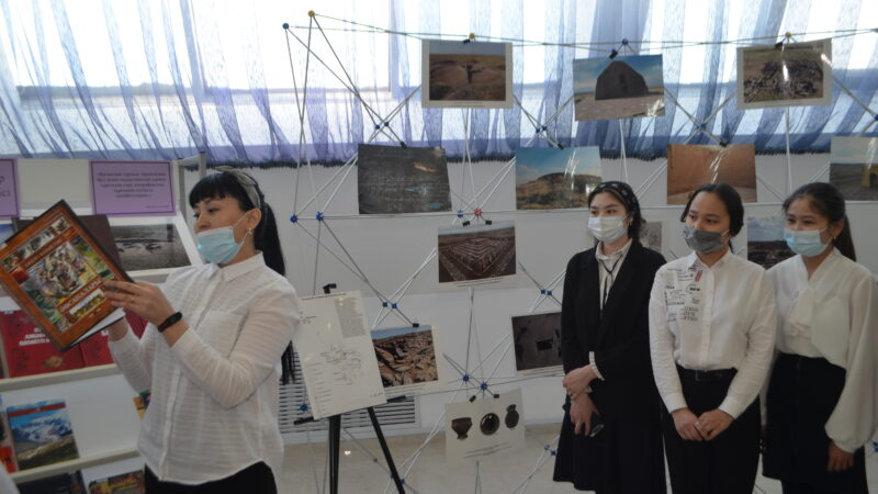 "Opening of temporary exhibition ""Sacral places of Sary-Arka"""